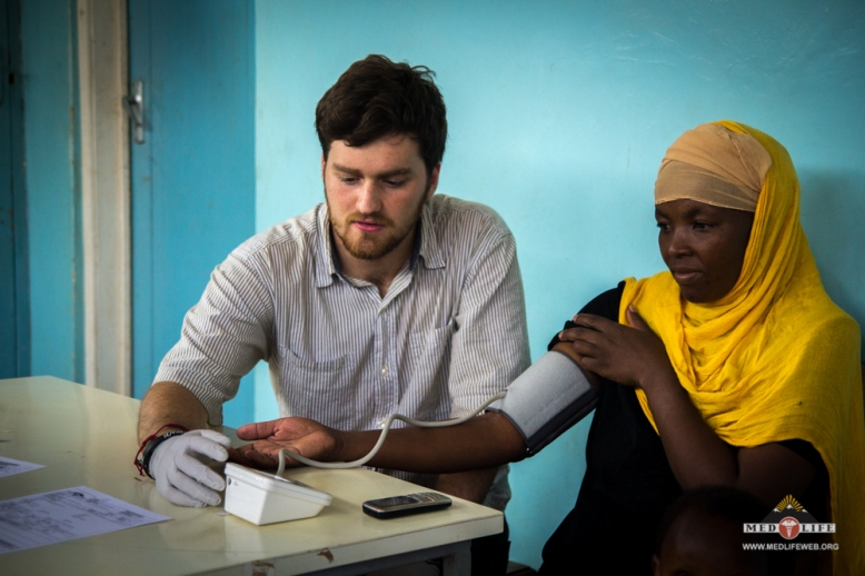Tanzania-Taking Patient Blood Pressure